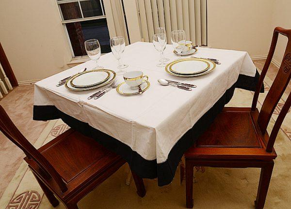 "festife 54""square tablecloth"