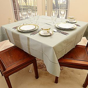 Slate Gray color 54″square tablecloths