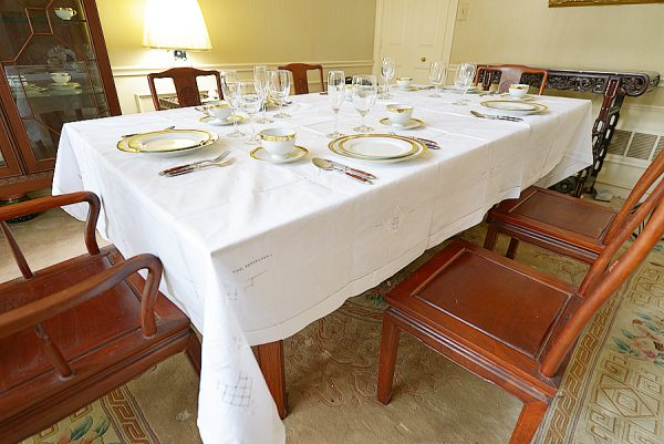 Festive Dining Room tablecloth, Festive Long tablecloth.